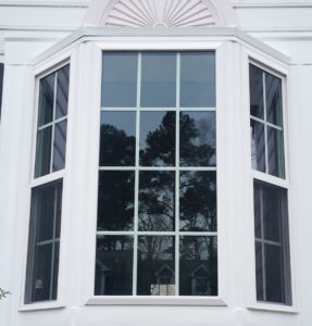 Custom built bay window unit